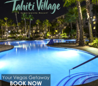 Special Vacation Package w/ Tahiti Village